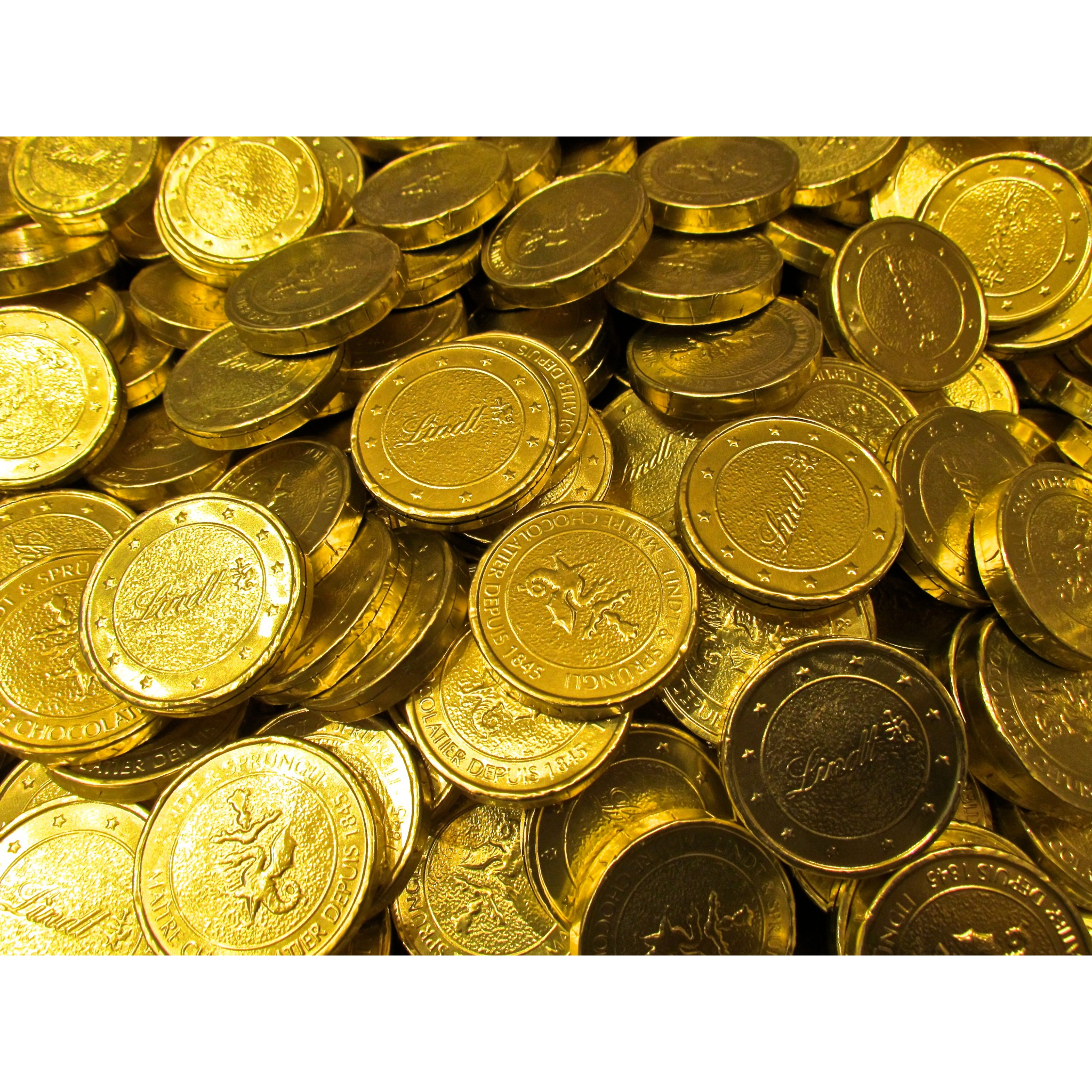 Sales Online And Buy Lindt Chocolates In The Shape Of Gold
