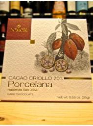 (6 TAVOLETTE X 25g) Domori - Porcelana - Fondente 70% - Cacao Criollo
