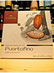 (3 BARS X 25g) Domori - Puertofino - Cocoa Criollo - Dark Chocolate 70%