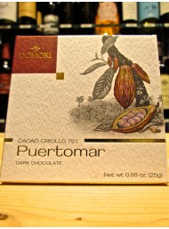 (3 TAVOLETTE X 25g) Domori - Puertomar - Fondente 75% - Cacao Criollo