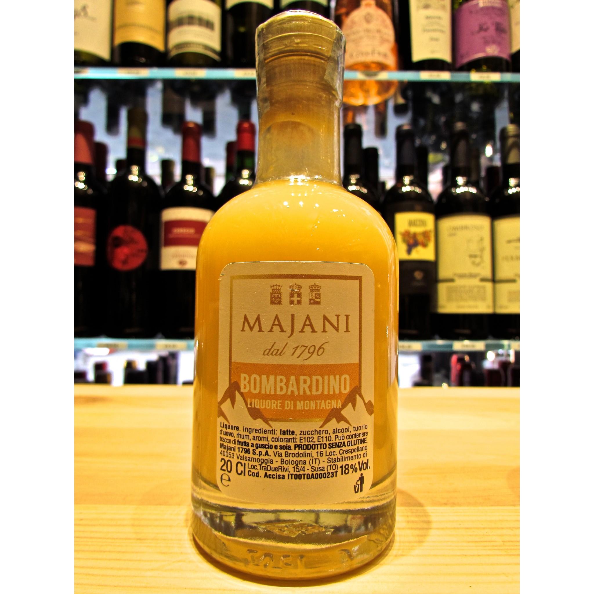 Buy Online Sales Italian Liquor Bombardino Majani Bologna