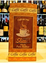 (6 CONFEZIONI) SLITTI - CAFFE' - MISCELA PURA ARABICA 250g