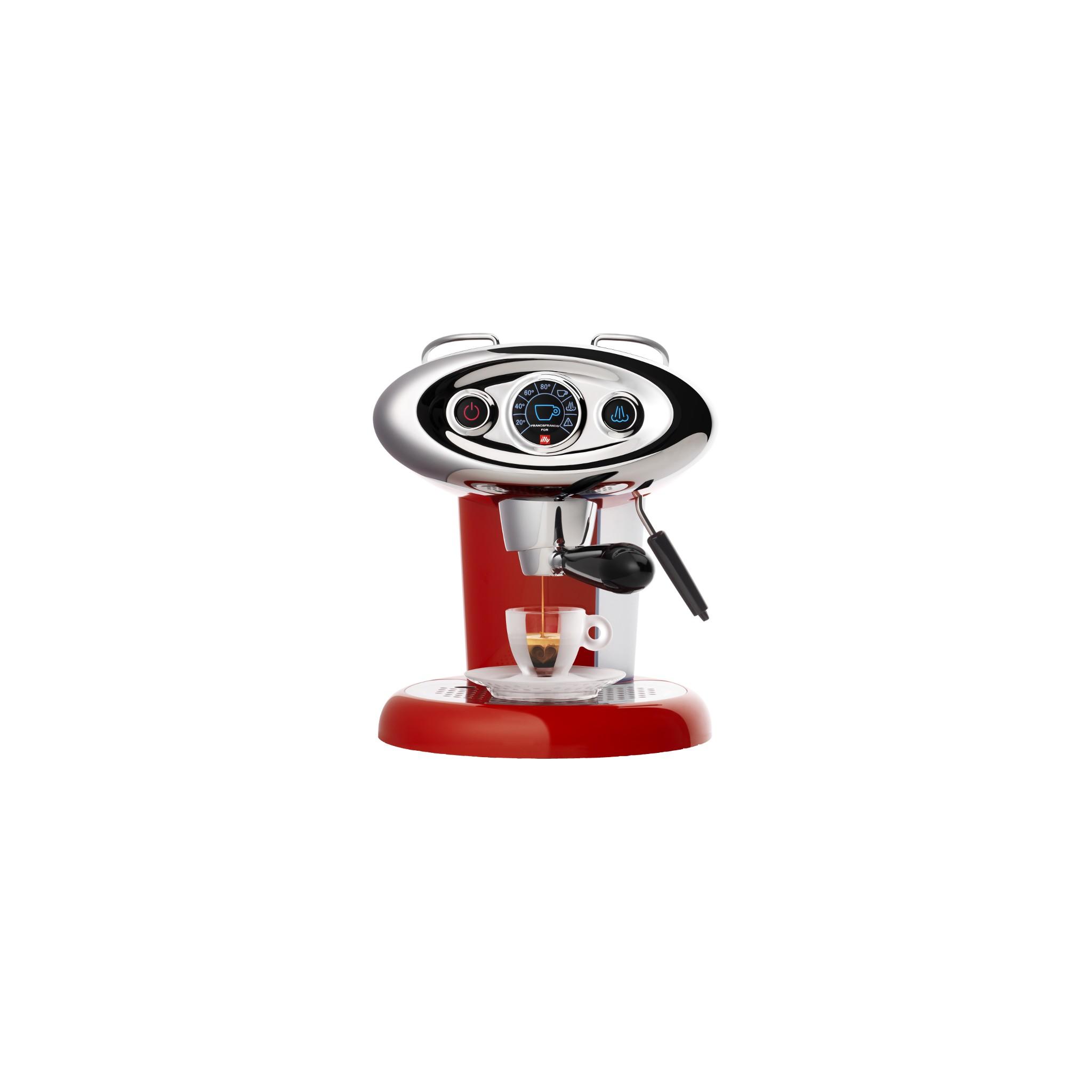 vendita online macchina per caff illy farncisfrancis x7 1 rossa metodo iperespresso miglior. Black Bedroom Furniture Sets. Home Design Ideas