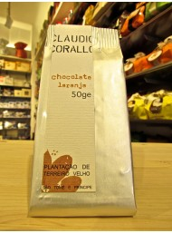 Claudio Corallo - Dark Chocolate 70% with orange - 50g
