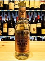 24 BOTTIGLIE - Fever Tree - Soda Water - Premium Natural Mixers- 20cl