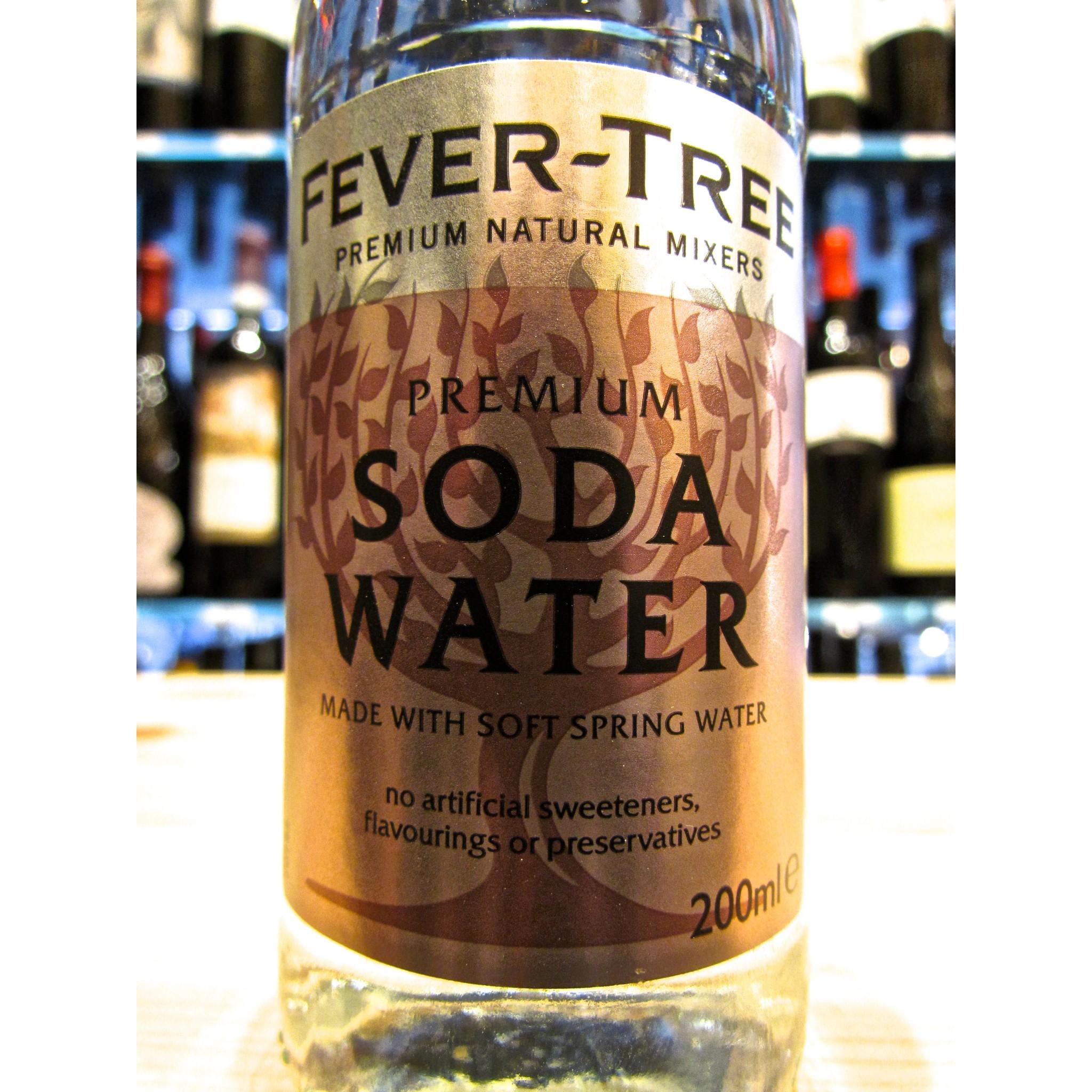 Soda In Christmas Tree Water: Online Sales Fever-Tree Soda Water, Soda Water. Produced
