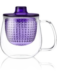 Kusmi Tea - Violet Pop Cup - Tea Mug With Infuser