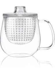 Kusmi Tea - Trasparent Pop Cup - Tea Mug With Infuser