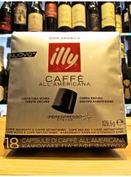 Illy Nero - Caffè all' Americana - 18 Capsule - Tostatura Scura - NOVITA'