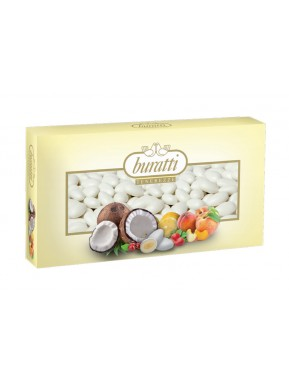 Buratti - Sugared Almonds White - Mixed Fruit - 1000g