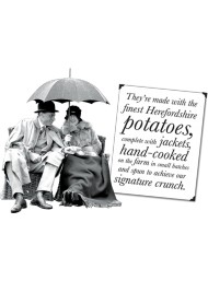 (6 PACKS x 150g) Tyrrels - Potato Crisps