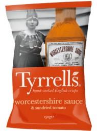 Tyrrells - Patatine alla Salsa Worcestershire - 150g
