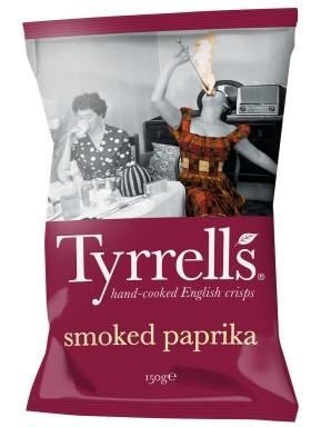 Tyrrells - Patatine alla Paprica - 150g
