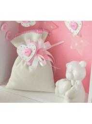 Cupido & Company - 12 Mollettine Cuore Rosa