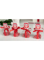 Cupido & Company - 12 Red Owl Clothespins