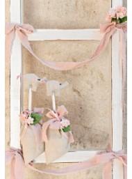 Cupido & Company - Coppia di Matite con Pupazzi Rosa