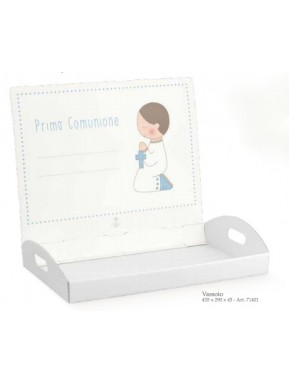 Cupido & Company - Light Blue Tray for Bonbonniere