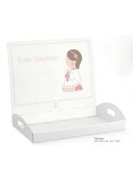 Cupido & Company - Vassoio Rosa Porta Bomboniere