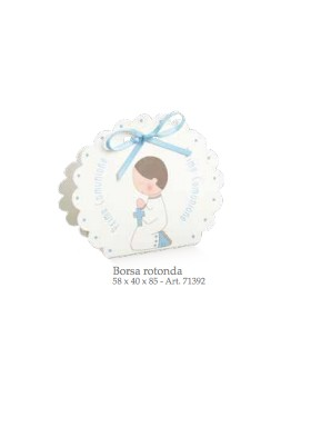 Cupido & Company - 10 Boxes Light Blue With Ribbon