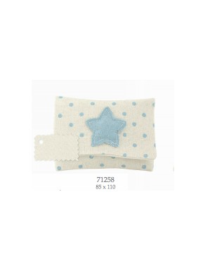 Cupido & Company - Bag with Light Blue Star