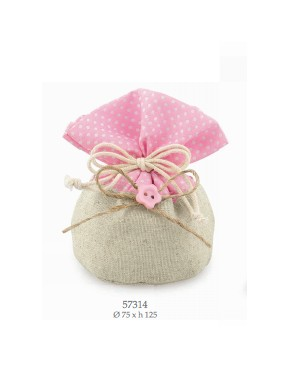 Cupido & Company - Bag with Pink Button