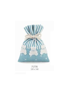 Cupido & Company - Bag with Light Blue Bears