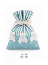 Cupido & Company - 12 Sacchettini con Orsetti Azzurri