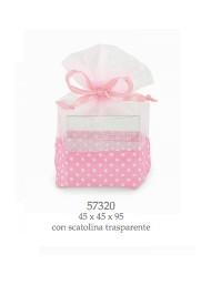 Cupido & Company - 6 Sacchettini Rosa con Astuccio