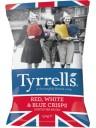 Tyrrels - Red, White and Blue Potato Crisps -150g