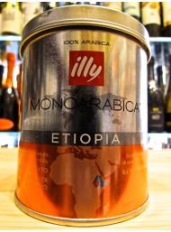 (6 CONFEZIONI X 125g) ILLY - MONOARABICA ETIOPIA - CAFFE' MOKA MACINATO