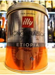 (6 PACKS) ILLY - MONOARABICA ETIOPIA - COFFEE MOKA POWDER - 125g