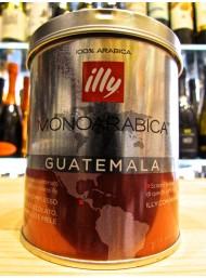 (3 PACKS) ILLY - MONOARABICA GUATEMALA - COFFEE MOKA POWDER - 125g