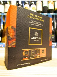 (6 BARS X 55g) Amedei - Tasting selection - 12 Napolitains