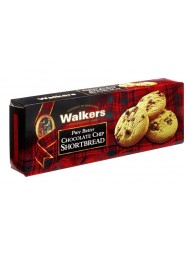 (6 CONFEZIONI X 125g) Walkers - Chocolate Chip Shortbread
