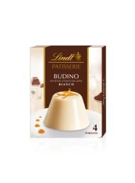 (6 CONFEZIONI X 95g) Lindt - Preparato per Budino Cioccolato Bianco