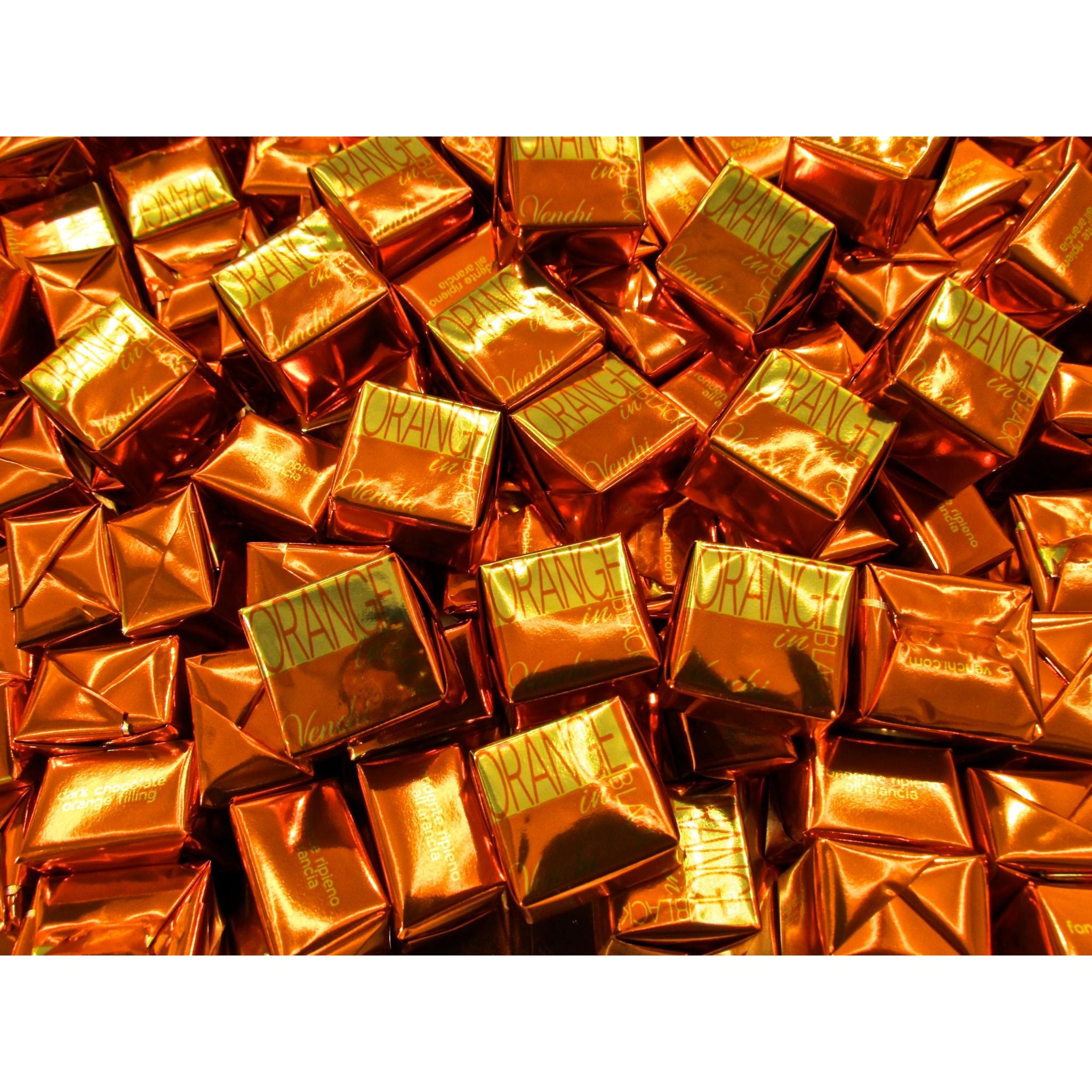 Online Sales Venchi Chocolates Wedge News 2015 Orange