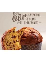 (3 PANETTONI X 1000g) Filippi - Panettone con Cioccolato all' Olio d'Oliva