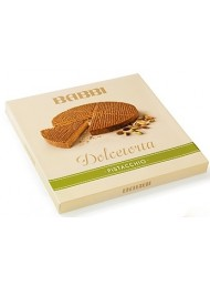 (3 BOXES X 330g) Babbi - Dolcetorta Pistachio - Wafers Cake Covered with Milk Chocolate