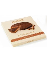 Babbi - Dolcetorta Hazelnuts - Wafers Cake Covered with Dark Chocolate - 330g