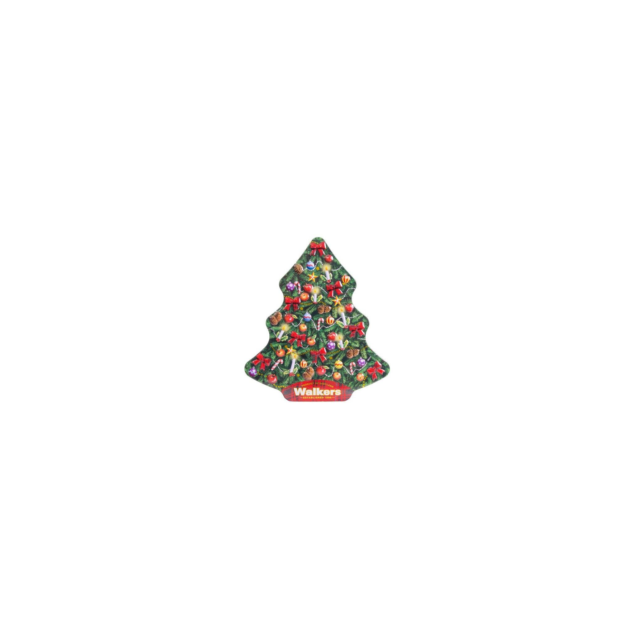 Biscotti Classici Di Natale.Vendita Online Walkers A Forma Di Albero Di Natale Biscotti Scozzesi