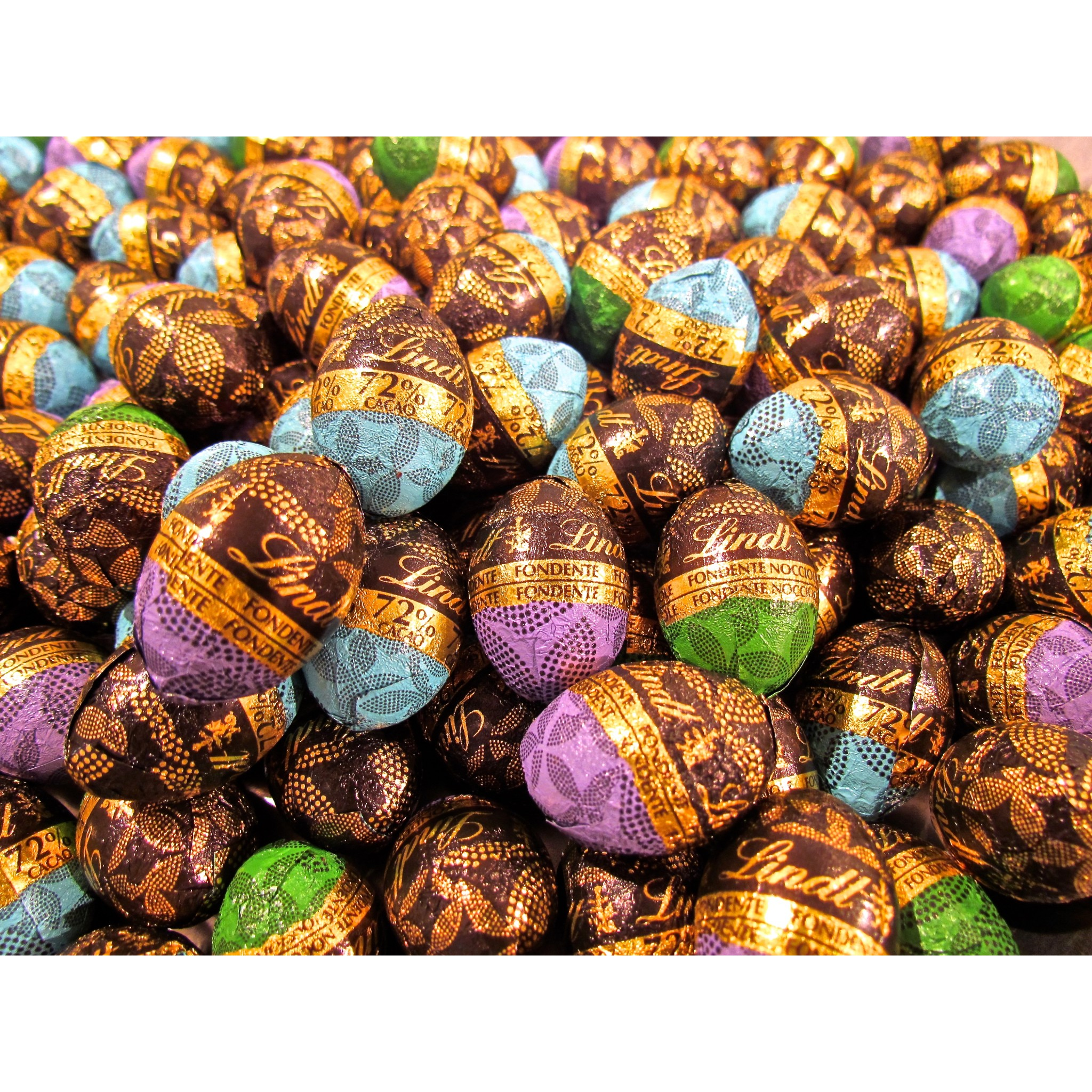 Lindt   Dark Chocolate   Assorted Eggs   18g