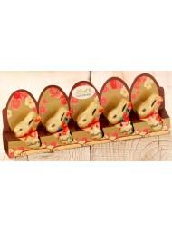 (3 Confezioni X 50g) Lindt - 5 Mini Gold Bunny
