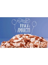 (6 EASTER CAKE X 1000g) FILIPPI - PEACH AND AMARETTI - NEW