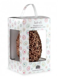 Maglio - Salt-elli - Milk Chocolate Egg with peanuts - 400g