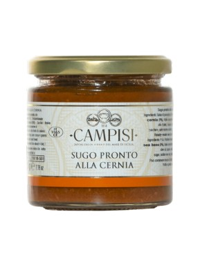 Campisi - Ready Made Grouper Sauce - 220g