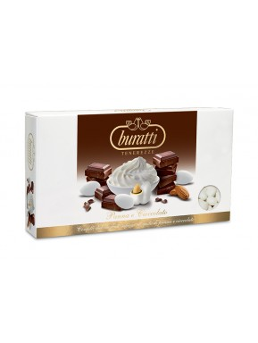 Buratti - Sugared Almonds - Creame and Chocolate Taste - 1000g