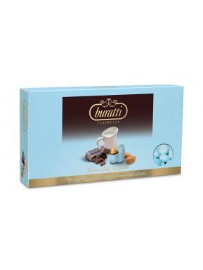 Buratti - Confetti Cioccolato al Latte - Azzurro - 1000g