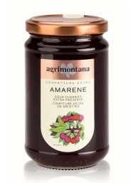(3 PACKS X 350g) Agrimontana - Sour Cherries Extra Preserve