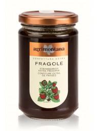 (3 CONFEZIONI X 350g) Agrimontana - Fragole