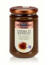 (6 PACKS X 350g) Agrimontana - Chestnuts Cream Whit Vanilla